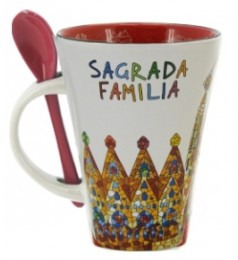 Sagrada Familia Mug with spoon