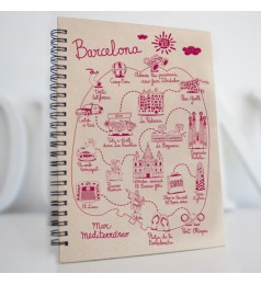 Eco Map Barcelona Notebook