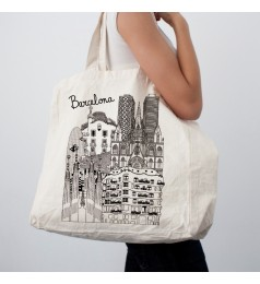 Sketching Barcelona Super Bag