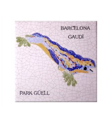 Coaster Park Guell Dragon