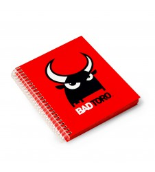 BadToro Red Notebook