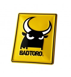 Yellow  Metal Plate BadToro