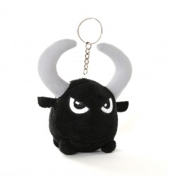 Toy Toro Plush Keychain