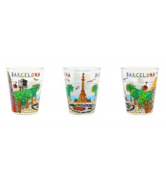 BARCELONA SOUVENIRS SHOT GLASS