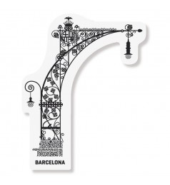 Barcelona Singular Magnet Lamp-Post