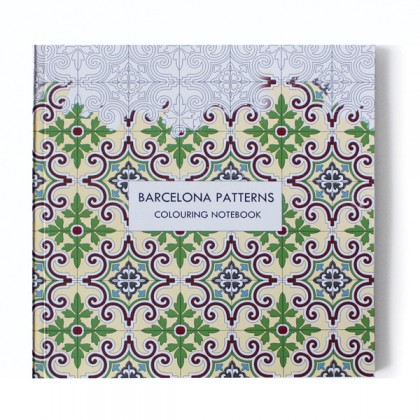 Barcelona Patterns Colouring Notebook