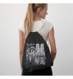 Sketching Cities Black Cotton Sac