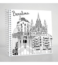 Sketching Barcelona Square Notebook