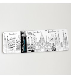 Sketching Barcelona Coasters