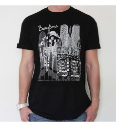 Sketching Barcelona Unisex T-Shirt