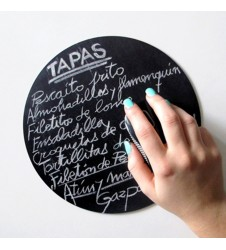 Spanish Tapas Blackboard Mousepad